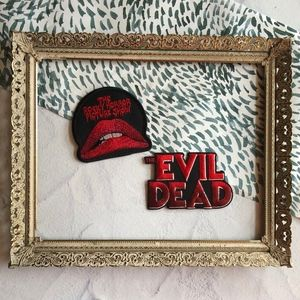 Rocky Horror Picture Show & The Evil Dead Patches